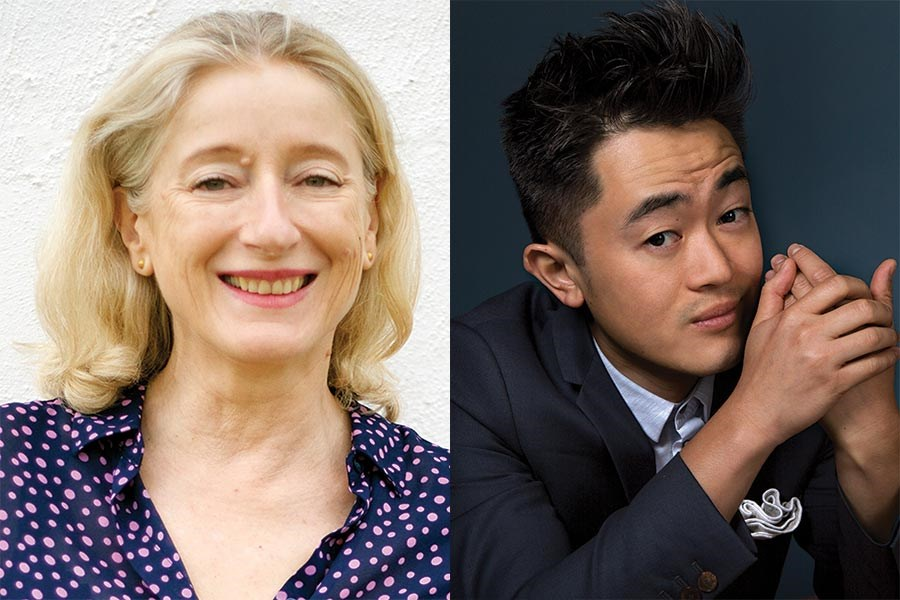 Madeleine O'Dea and Benjamin Law